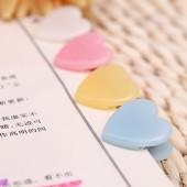 韓版學生時代B多功能愛心小夾子 票據夾(30個裝)ABS91677