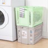 日本進口 不動技研 家居食品收納籃 雜物收納盒(大深寬型)