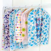 加厚防塵袋 衣罩 透明衣服罩 西服衣服套 防塵套(小號)