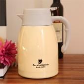 博沃不銹鋼保溫壺家用保溫瓶不銹鋼大容量戶外熱水瓶杯便攜暖水壺 BWH113(1.5L)