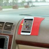 防滑墊車載大號旗幟造型手機減震防滑墊子中控臺車用車內多功能墊