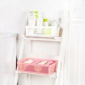 日本進口零食收納籃廚房儲物籃桌面收納盒置物籃多功能整理收納筐