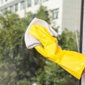 30年老品牌振興 洗碗手套家用洗衣服手套防油防水手套加厚螺紋自然乳膠皮家務手套塑膠(L號)A-16