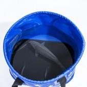 戶外可折疊桶釣魚桶 野營儲水桶 車載伸縮桶-五角星 17L 031