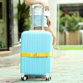 彈力行李箱安穩捆綁帶 旅行箱拉桿箱一字打包帶  丙綸帶(金屬扣長款)113