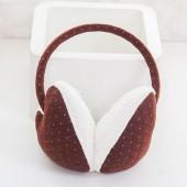 時尚仿兔毛冬季保暖耳罩耳朵防凍保護罩護耳罩 可愛點點款(混賣)