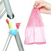 便攜可掛嬰兒尿布拋棄袋抽取式一次性創意迷你垃圾袋盒車載雜物袋(替換裝)