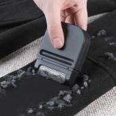 便攜式衣物除毛器去毛刷剃毛除球不傷衣不用電去毛球修剪器(單頭黑色)