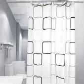 浴室浴簾衛生間洗澡防水隔斷掛簾家居加厚防潮免打孔門簾150*200cm