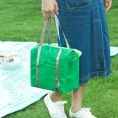 牛津布旅行保溫袋飯盒袋牛津布袋鋁箔加厚防水包手拎野餐學生便當手提包 290