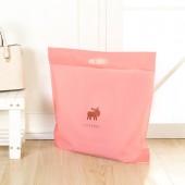 居家半透明提手包包收納袋兩件套立體掛袋衣柜櫥懸掛式整理袋防塵整理儲物袋(2個裝)大號54.5*48cm