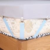 床單固定夾家用臥室用床單防滑夾無痕固定彈力帶床單固定器(4個裝)不可調節 C款