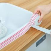 廚衛防水防霉膠帶廚房接縫防潮防水條馬桶縫隙墻角密封線貼美縫貼(大號3.7*280cm)