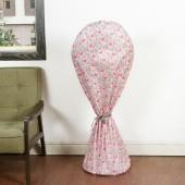 風扇罩子圓形可愛電風扇套防塵罩子家用簡約落地式全包布藝風扇罩(火烈鳥大號143cm)267