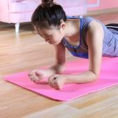 初學者加長防滑墊男女士塑型減肥健身瑜伽墊子 波浪紋