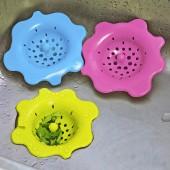 花朵硅膠衛生間地漏過濾網下水道過濾網毛發浴室排水口頭毛發過濾網
