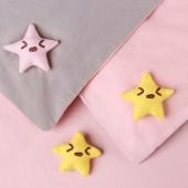 家用被子固定器床單防滑固定夾被角被罩防滑固定扣防跑神器 棉質按壓款 8個裝(星星)