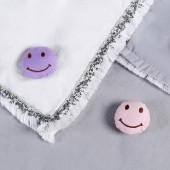 家用被子固定器床單防滑固定夾被角被罩防滑固定扣防跑神器 棉質按壓款 8個裝(笑臉)
