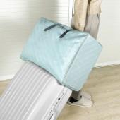 被子收納袋整理袋衣服打包袋防水防潮搬家袋行李袋棉被防塵袋 斜紋款(中號)