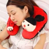 u型枕頭飛機旅行u形枕護頸枕頭頸椎保健枕午休U枕頭枕午睡神器