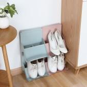 可疊加式站立分層鞋架創意收納鞋架鞋柜鞋托塑料鞋子收納架整理架