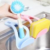 廚房置物架吸盤式加厚水槽瀝水架海綿架家居用品廚房碗碟架收納架