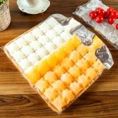 冰格冰袋冰塊模具制冰盒奶茶店制冰模具硅膠創意家用凍冰塊模具冰塊盒(10片裝)