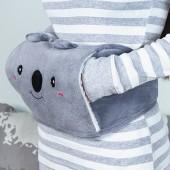 熱水袋充電防爆暖水袋保暖煖宮毛絨萌萌可愛暖寶韓版護腰帶暖腰帶(含國標熱水袋)