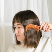 梳子檀木梳桃木梳家用梳子大號卷發梳長發木質牛角木梳