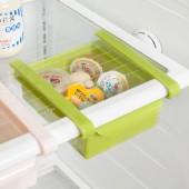 家用創意抽動式冰箱收納盒保鮮盒保鮮隔板層多用收納架整理置物架