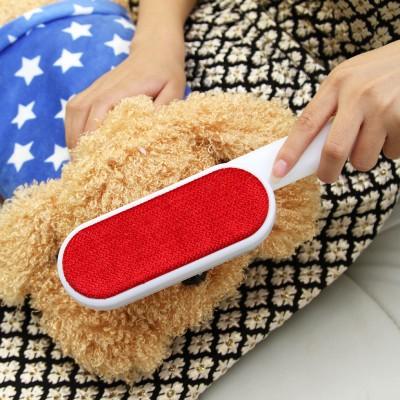 居家衣物除毛刷尾部圓孔去毛粘毛除塵刷衣物吸毛干洗刷粘毛滾干洗器去球刷