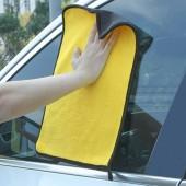 珊瑚絨吸水不掉毛洗車巾擦車布吸水加厚不掉毛抹布汽車玻璃專用巾不留痕汽車用品擦車巾