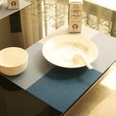 長方形防油隔熱餐桌墊加厚pvc防水碗墊子大號家用創意餐桌餐墊 4色方格