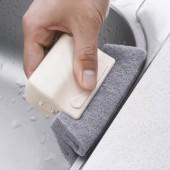 帶手柄窗戶槽溝清潔刷百潔布窗槽清洗刷掃凹槽小刷子清理窗臺縫隙刷