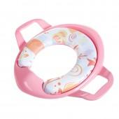 寶寶扶手坐便器馬桶圈幼兒帶手柄馬桶座男女小孩通用嬰兒便圈坐墊
