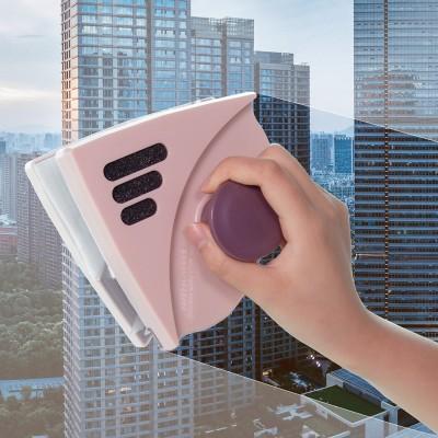 擦玻璃器擦雙層高層強磁雙面擦窗戶刷高樓清潔清洗家用工具刷刮玻璃擦(H款橫杠)