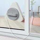 擦玻璃器擦雙層高層強磁雙面擦窗戶刷高樓清潔清洗家用工具刮刷玻璃擦(S款)適用10-35mm玻璃