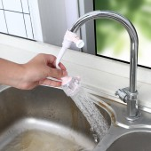 加長延伸水龍頭防濺花灑自來水過濾廚房通用衛生間節水器(短款)