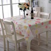 家用桌布布藝棉麻小清新歐式田園風桌墊子防燙餐桌布北歐茶幾蓋布130*180cm