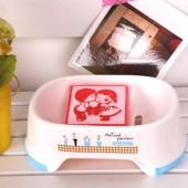 瀝水肥皂盒浴室衛浴雜物收納盒手工皂家居用品防滑洗衣皂托香皂盒(隨機發色)HF-596
