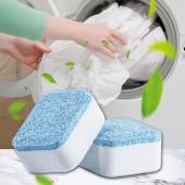 洗衣機槽泡騰清潔片消毒殺菌除垢泡騰片全自動滾筒式家用清潔劑(單片裝)