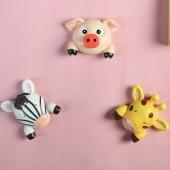 創意樹脂卡通動物開關貼墻貼保護套臥室開關套插座開關面板裝飾套
