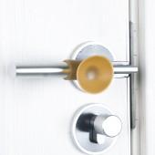 防撞貼門后硅膠墊墻面桌角硅膠加厚卡通緩沖墊衛生間門把手防撞墊