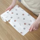 吸油紙吸水可重復使用卷筒廚房用紙加厚專用卷紙衛生紙擦手洗碗紙擦桌布(無紡布)50張