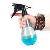 30年老品牌振興 噴壺家用園藝工具便攜式灑水壺澆花壺噴霧器小型透明氣壓式澆水壺(350ml)PT020