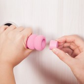門把手保護套寶寶防撞門把套防盜門房間拉手門把手套房門拉手墊(糖葫蘆型)