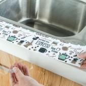 自粘水槽防水貼廚房防水防霉膠帶衛生間洗漱臺吸濕貼紙臺面吸水貼