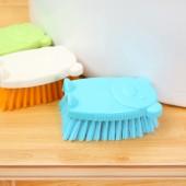 30年老品牌振興卡通小熊洗衣刷清潔刷軟毛板刷洗衣服鞋小熊造型刷子洗鞋刷 SA1225