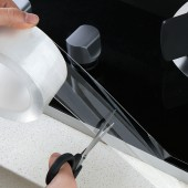 廚房全透明水槽防水貼貼紙防水防霉條洗菜盆防水邊貼馬桶縫隙美縫帖