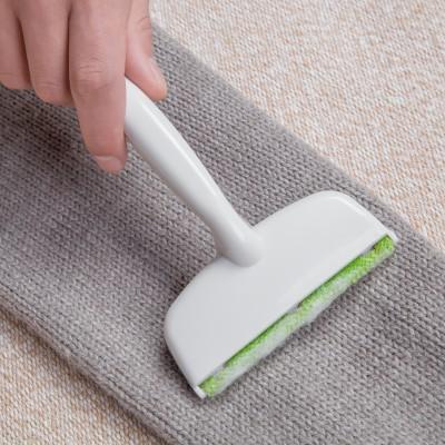便攜式衣物粘毛器除塵刷除毛器衣服去毛刷除毛刷拖把狀靜電除塵刷去毛刷子J183217